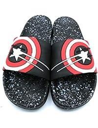 0c808055fa Amazon.in: Black - Flip-Flops & Slippers / Men's Shoes: Shoes & Handbags