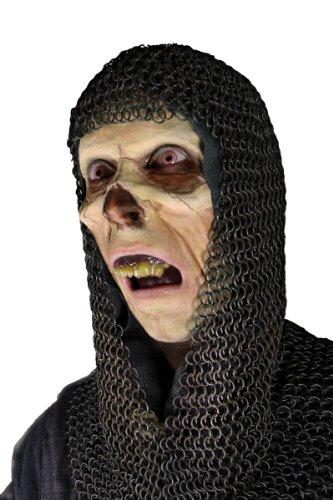 Latex Applikation Halbmaske Untoter Zombie Maske Halloween (Maske Halloween Halb)