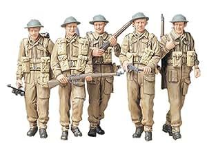 Military Miniatures British Infantry On Patrol - 1:35 Scale Military - Tamiya