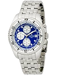 Sartego Men's SPC33 Ocean Master Quartz Chronograph Watch