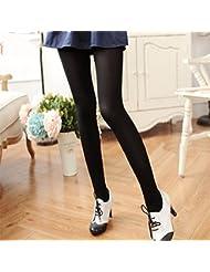 Les adolescentes, des chaussettes, bas 300D le printemps et l'automne même borne portent des pantalons femme bas blancs