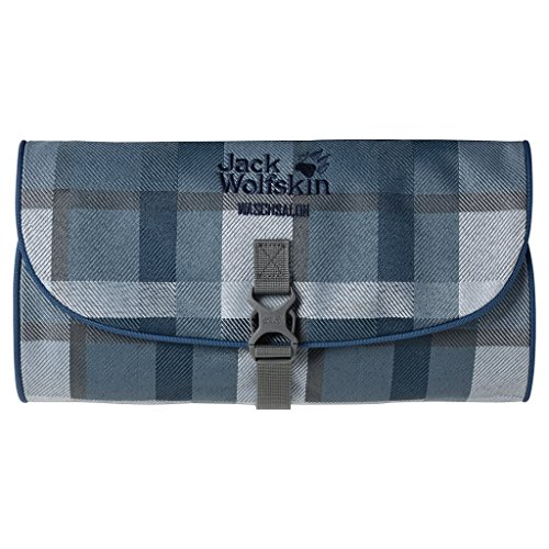 Jack Wolfskin Kulturbeutel Waschsalon Dark Sky Woven Check