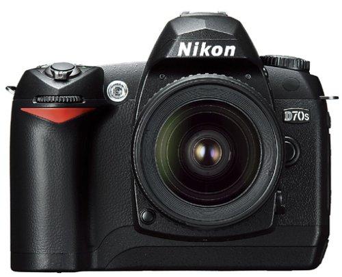 Nikon D70s SLR-Digitalkamera (6 Megapixel) Gehäuse in schwarz inkl. 1GB CF Ultra II Karte