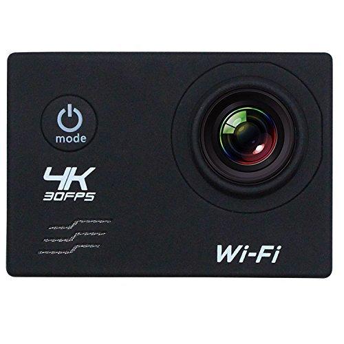 Wifi azione fotocamera, 4K 2Schermo LCD Sport
