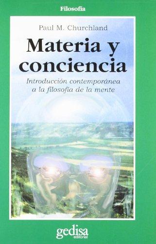 Materia y conciencia por Paul M. Churchland