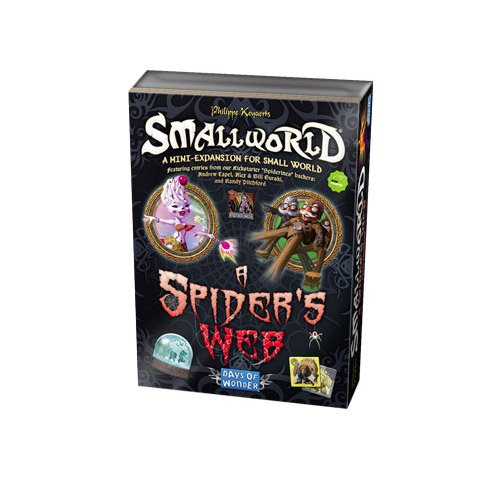 Days of Wonder Small World A Spider 's Web mini-expansion