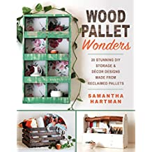 Wood Pallet Wonders: 20 Stunning DIY Storage & Decor Designs Made from Reclaimed Pallets