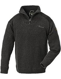 Pinewood Hurricane - Jersey para hombre, color gris, talla L