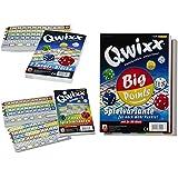 Nürnberger-Spielkarten Set Qwixx-Zusatzblöcke 4016, Qwixx-Gemixxt 4033, Qwixx Big Points 4039 jeweils im 2er-Pack