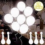 Luci a LED AISIGE all'interno di palloncini sono un ottimo sostituto per la candela tradizionale! Dai luce a una festa noiosa! Questi palloncini luminosi e vivaci sono tutto ciò che serve per dare una luce unica alla tua festa. Anche se è anc...