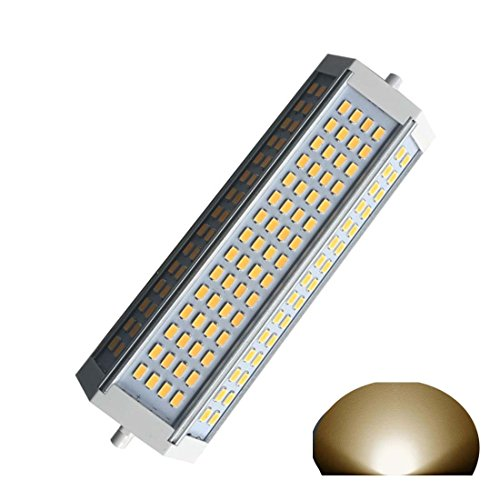 Generic R7s J189 LED Leuchtmittel dimmbar 50 W warmes Licht 3000 K AC230 V 4700lm Double Ended J LED Flutlicht für R7s 750 W Halogen Ersatz Lampe - Double Ended Base