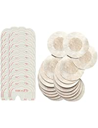 Mujer 10 Pares Desechable Pegatinas Pezón 10 Pares Instant Bare Lift Breast Enhancer Tape