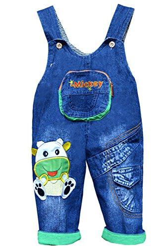 Unisex Baby KinderLatzhose Jeans OverallsLatzhose Kleinkind Hose mit Hosenträger