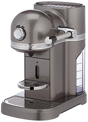 Kitchenaid 5KES0503EMS Kitchenaid Nespressomaschine Medaillon silber