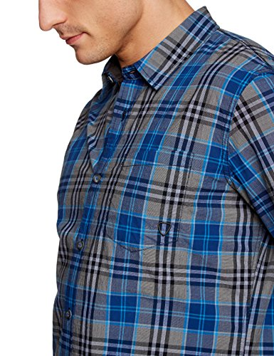 Strellson Sportswear Herren Slim Fit Freizeithemd Shay-W Blau (blau 324)
