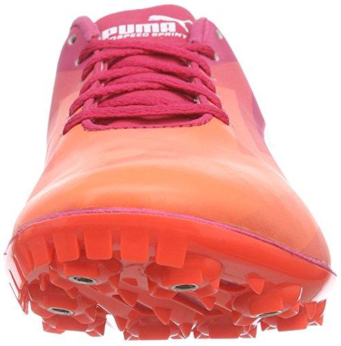 Puma - Evospeed Sprint V6 Wn, Anfibi Donna Arancione (Orange (fluo peach-white-rose red 01))