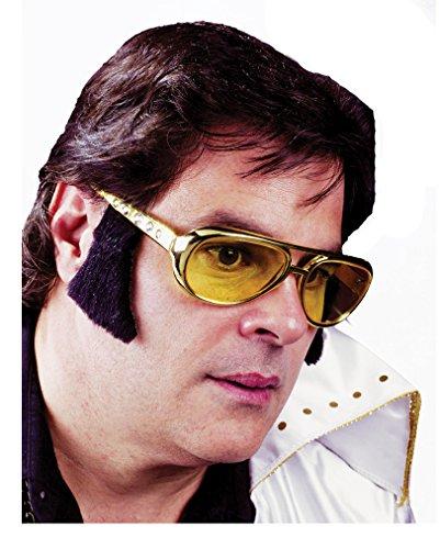 Elvis Presley Brille mit Koteletten (Elvis Brille Mit Koteletten)