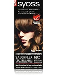 Syoss Haarfarbe, 5-8 Haselnuss, 3er Pack (3 x 115 ml)