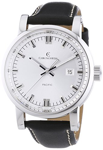 chronoswiss-pacific-mens-automatic-watch-with-silver-dial-analogue-display-and-black-strap-2883b-si