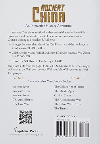 You Choose: Ancient China: An Interactive History Adventure