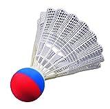 FLIXI Riesen Federball – wetterfester Badminton Ball für outdoor Ball