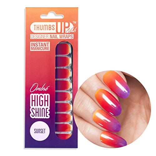 ThumbsUp Nails -Sunset Nagelfolien 20 Folien / Packung