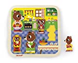 Janod - J07082 - Chunky Puzzle 7 pièces - Cuisine (bois)
