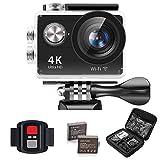 IXROAD Action Cam 4K Ultra HD WiFi Sport Camera Fotocamera Videocamera Telecamere Subacquea Sportive...
