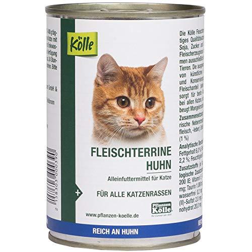 Kölle Nassfutter für Katzen Fleischterrine Huhn, 400 g