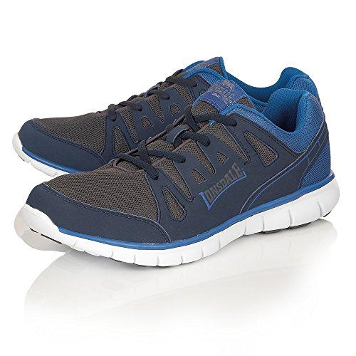 Lonsdale Caldas - Baskets - Homme Black/Grey/Blue