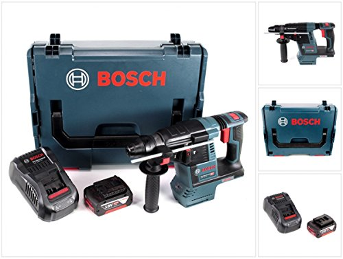 Preisvergleich Produktbild Bosch GBH 18 V-26 Akku Bohrhammer Professional SDS-Plus in L-Boxx mit 1 x GBA 5 Ah Akku und GAL 1880 CV Ladegerät