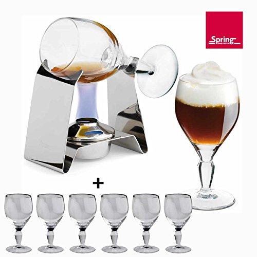 Spring Irish Coffee Set inklusive 6 Gläser von Spring vom autorisierten Fachhändler