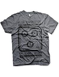 Officiellement Sous Licence Flux Capacitor Hommes T-Shirt (Heather Foncé )