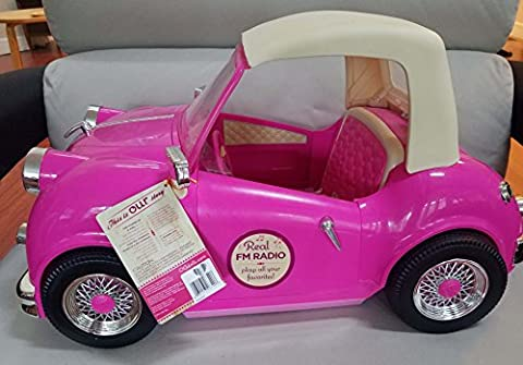 Our Generation In The Driver's Seat Retro Convertible Cruiser Car for 18-Inch Dolls by Our Generation