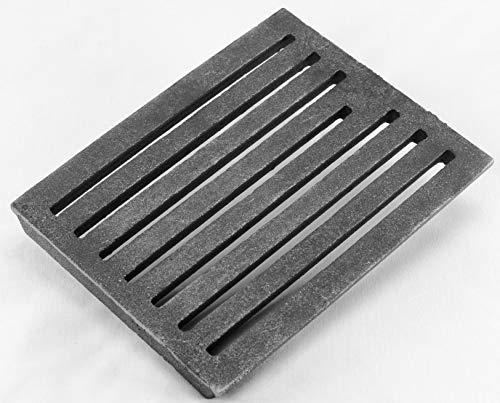 Griglia antiaderente, cenere di carboni, griglia da camino 24 x 19 cm