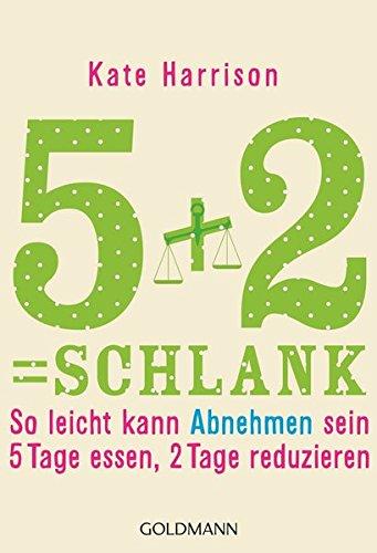 5+2= schlank: So leicht kann Abnehmen sein: 5 Tage essen, 2 Tage reduzieren (2-tages-diät)