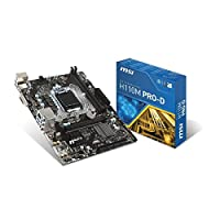 MSI Mb H110M Pro-D Anakart-Motherboard