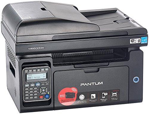 Pantum Faxgeräte: Professioneller 4in1-Mono-Laserdrucker M6600NW Pro mit Airprint & Fax (Scanner)
