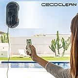 GKA Cecoclean WinRobot 870 5035 Fensterputzroboter 80W Fenster putzen lassen mit Fernbedienung Fenstersauger Dusche Fliesen NP 299 €