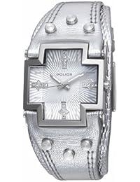 """Police """"Glory Small"""" P11598MS-04 - Reloj de mujer de cuarzo, correa de piel color plata"""
