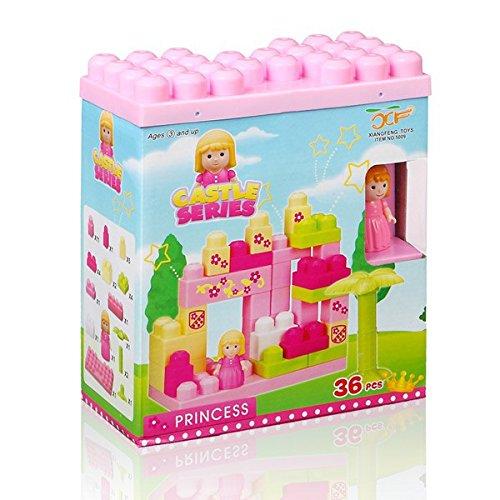 Spiel Blocks von Bau Chateau (36-teilig)-Spiel-Reflection Chateau-Prinzessin Block Chateau