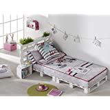 Textilhome - Saco NórdicoInfantil PIRATE Cama 105 cm. Color Unico