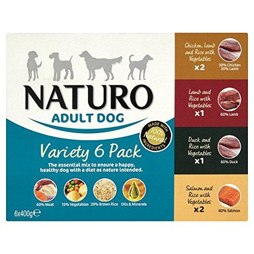 Naruto Erwachsene Hund Lebensmittel Tablett 6x mandelfarben