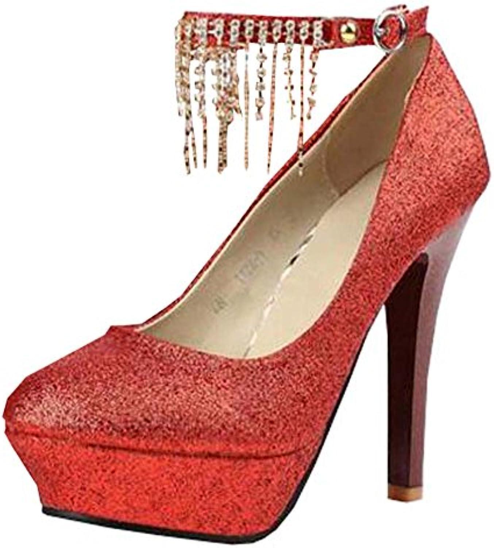 XiuHong Shop Mode Hochhackige Strass Hochzeit Schuhe Seasons Schuhe