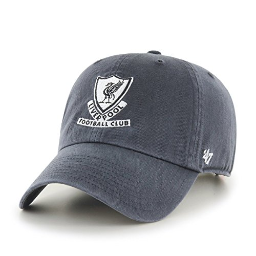 47 Brand EPL Liverpool FC Clean Up Cap - Charcoal