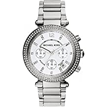 Michael Kors MK5353 Chronograph Womens Watch (Silver)