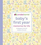 Baby's First Year Memories for Life: A keepsake journal of milestone moments (Baby Record Book)