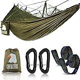 Vergessen Sie das ZeltIdeal als Zelt-Ersatz, ist diese Mosquito Net Camping Hängematte leicht, kompakt und kann überall genommen werden.Kompakt, während geräumig Wenn gefaltet in Es ist angeschlagener Sack, du wirst es nicht einmal wissen Es ist in d...