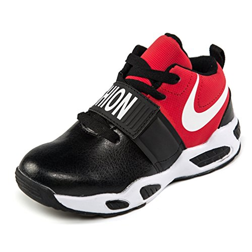 Kids Sneakers Leichtes High Top Bequem Atmungsaktive Mode Outdoor Basketball Running Shoes für Toddle, Little, Big Boys