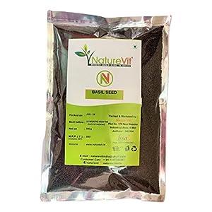 NatureVit Basil Seeds – 400gm [Sabja]